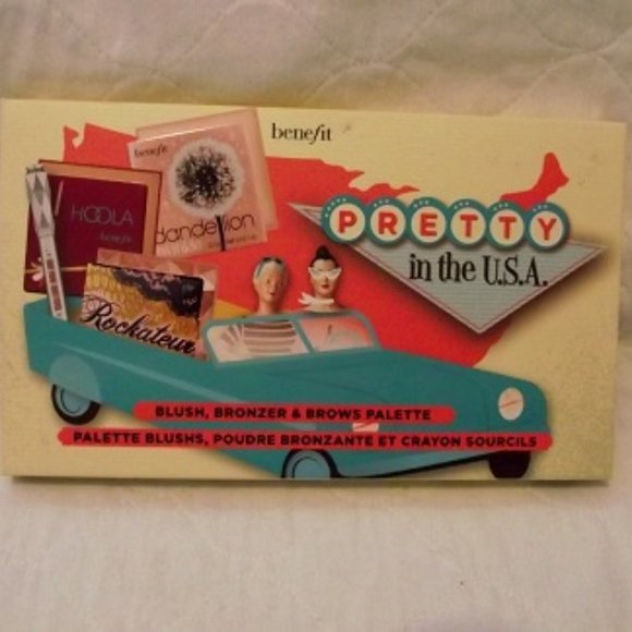 """BENEFIT complete Face Palette """"Pretty in the USA"""""""